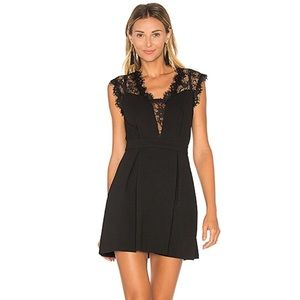BCBGeneration Black Lace Dress
